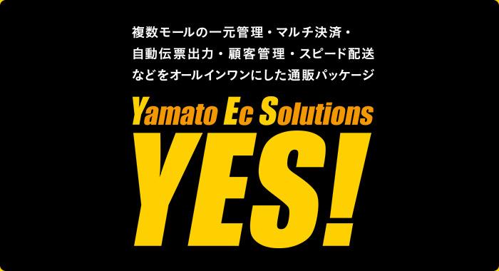 複数モールの一元管理・マルチ決済・自動伝票出力・顧客管理・スピード配送などオールインワンにした通販パッケージ [YES] Yamato Ec Solutions